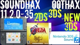 How To Install Homebrew: SOUNDHAX/OOTHAX On 11.2.0-35 2DS 3DS New 3DS XL