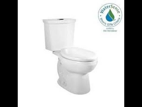 How To Install A Toilet - Amercian Standard Cadet 3 Dual Flush Toilet