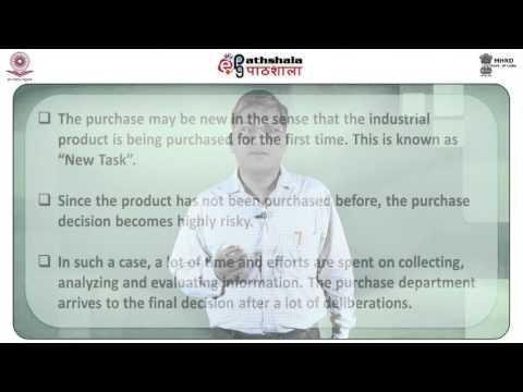 Industrial marketing (BSE)