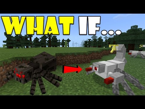 WHAT IF Mobs are Robots | Minecraft PE