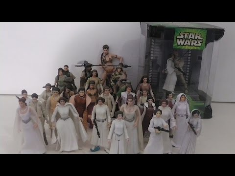 Star Wars Kenner/Hasbro 2015 Princess Leia action figure overview