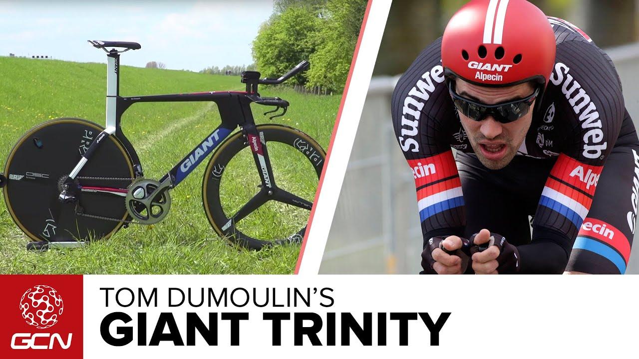 Tom Dumoulin S Giant Trinity Time Trial Bike Giro D Italia 2016