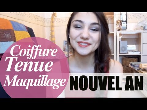 Id e tenue maquillage coiffure nouvel an youtube - Maquillage nouvel an ...