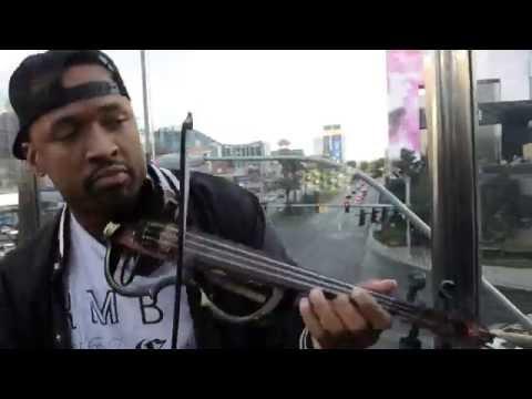 Hip Hop Violinist - Chris Brown Loyal (Las Vegas)