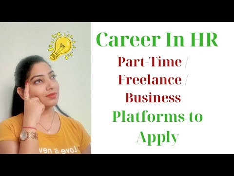 Career In Human Resource I PartTime I Freelance I Own Business I Platform To Apply I Infin Insights