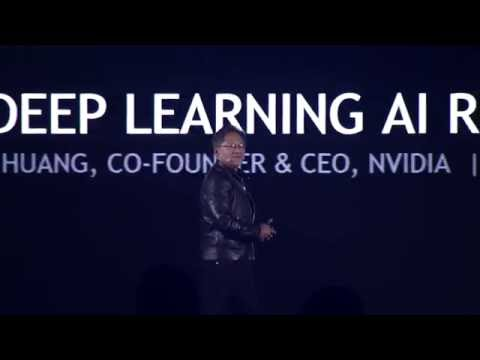 GTC China: AI, Deep Learning with Jen-Hsun Huang & Baidu's Andrew Ng