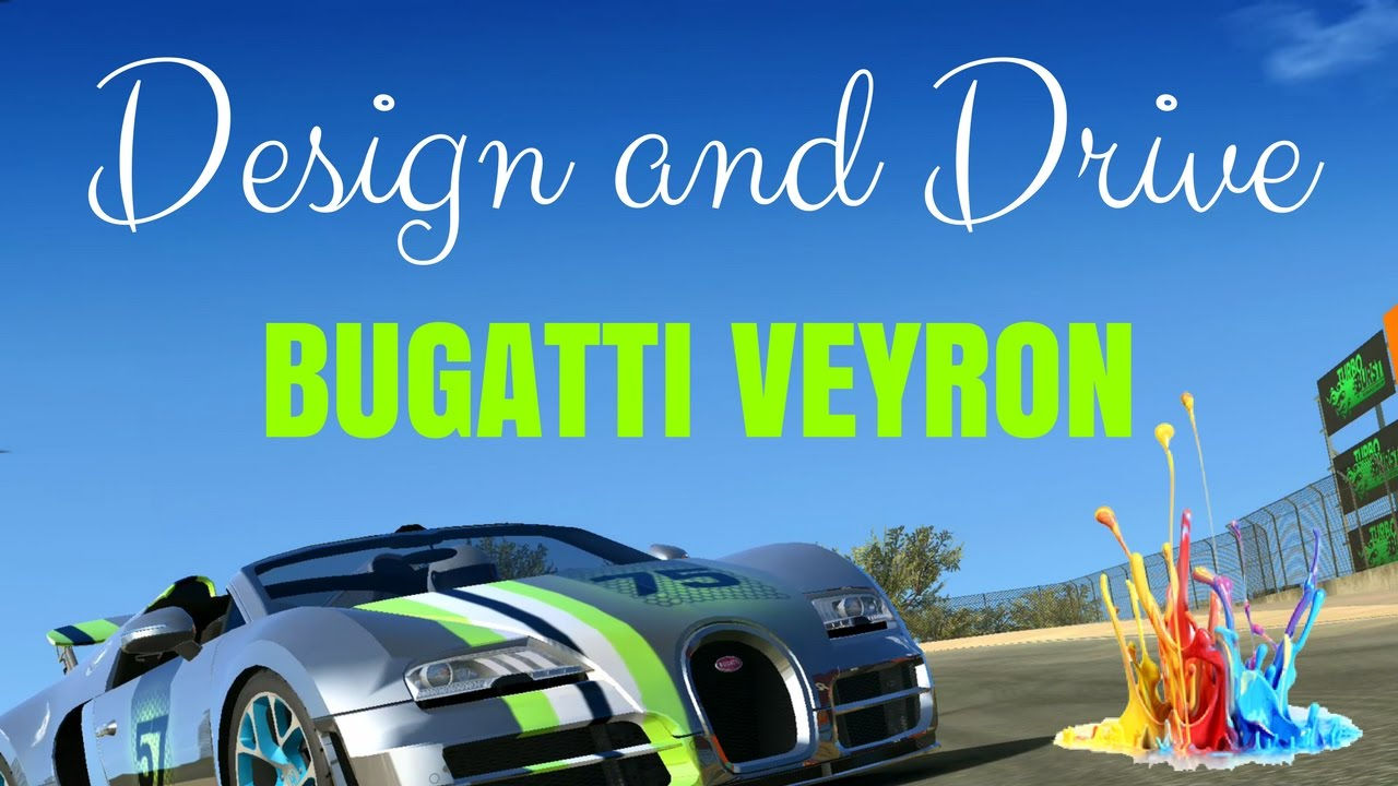 design and drive bugatti veyron real racing 3 youtube. Black Bedroom Furniture Sets. Home Design Ideas