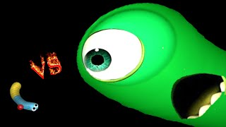 Slither.io - Giant Vs Smalls? Massive Snakes Kills | Slitherio Plays