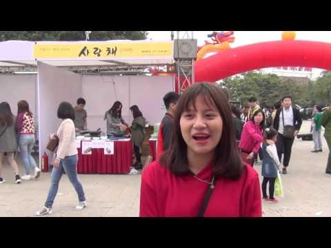 [Phóng sự] Lễ hội văn hóa và ẩm thực Việt Nam - Hàn Quốc 2015