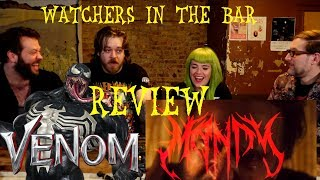 Watchers In The Bar: Venom and Mandy REVIEW