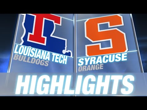 Louisiana Tech vs Syracuse | 2014-15 ACC Men