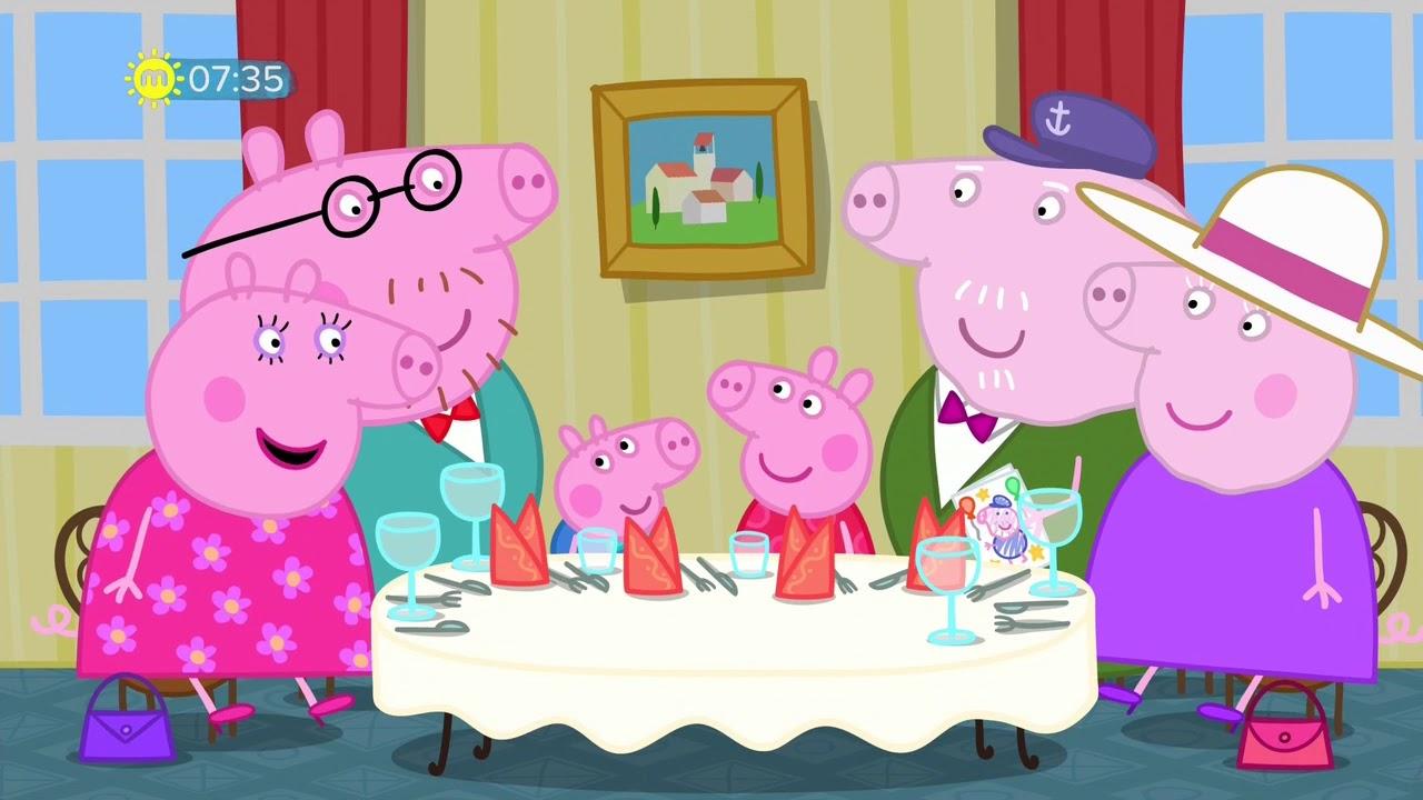 Download Peppa Pig   S06E17   Grandpa Pigs Birthday