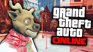 GTA: ONLINE (PS4 Next Gen) | Serial Vs. Civilian: Moose Facts (Funny Montage)