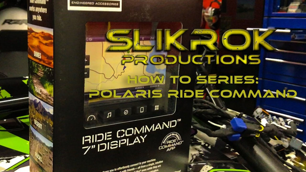 Installation and Review of the Polaris Ride Command 7