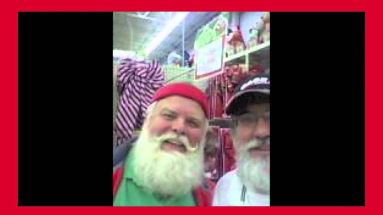I met santa clause