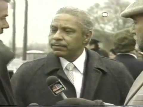 Chicago Mayor Harold Washington Funeral Service (part 1)