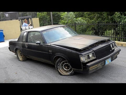 Abandoned 1987 Buick Regal Grand National GNX 3.8L V6 Turbocharged Restoration Project