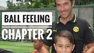 latihan sepak bola anak first touch ball feeling