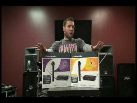 Audiotechnica Wireless Systems - Springfield Music Gearbox | Music Stores in Springfield MO