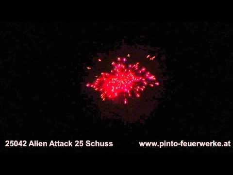 Pinto Feuerwerke 25042 Alien Attack 25s