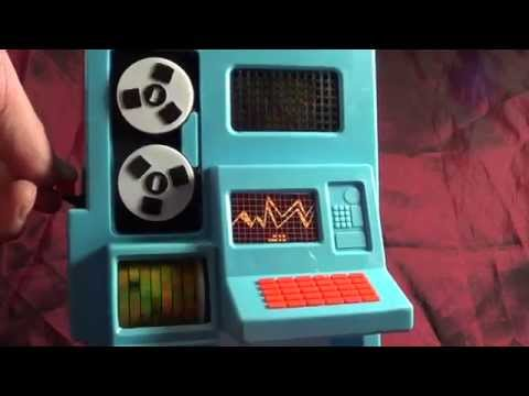 Sears Floor Model Computer Toy from 1979- Bionic Woman Wonder Woman