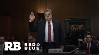 Trump stands by Barr after testimony