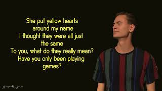 Ant Saunders   Yellow Hearts (Lyrics AND MUSIC)