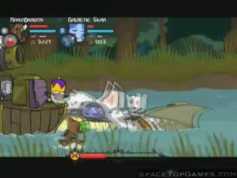 Castle Crashers Walkthrough Part 6 - Catfish