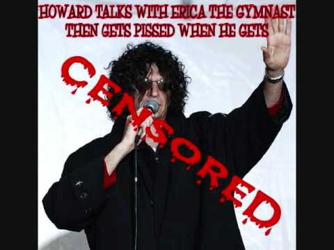 Howard talks with Erica and gets pissed when he gets Censored