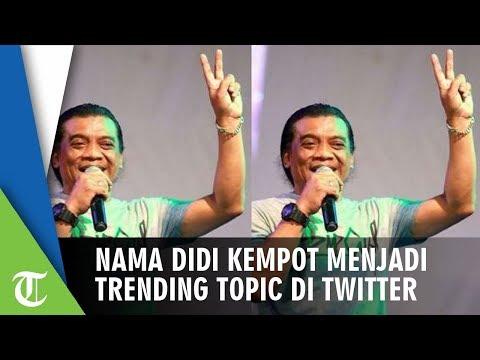Didi Kempot Jadi Trending Topic di Twitter dan Dapat Julukan Godfather of Broken Heart
