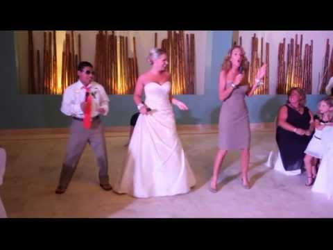 Surprise Mother, Daughter, Brother Dance at Wedding!