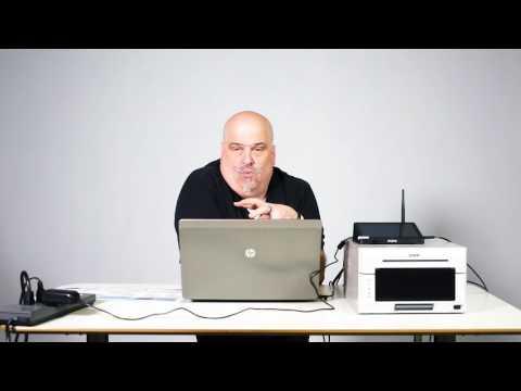 WPS-20 NEW DNP WPS Pro Wireless Print Server Model