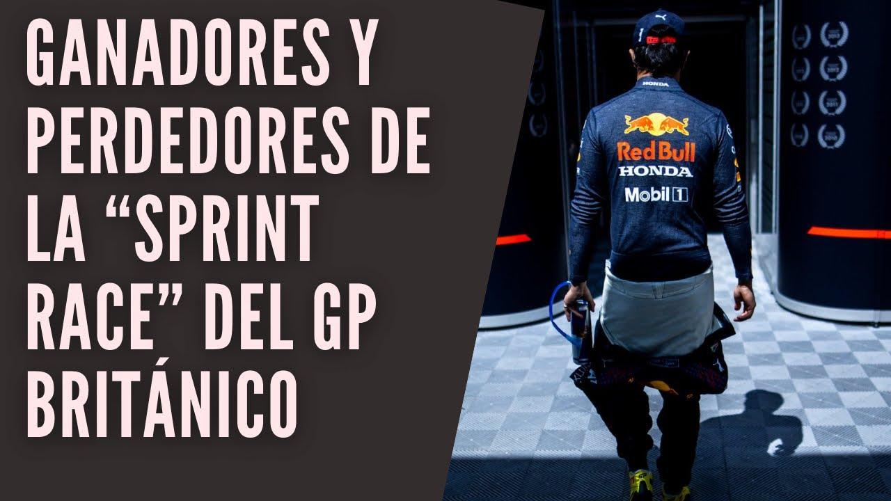 """GANADORES Y PERDEDORES DE LA """"SPRINT RACE"""" DEL GRAN PREMIO BRITÁNICO"""