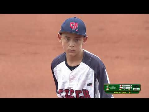 Italy v Czech Republic - U-12 Baseball World Cup 2019 - Placement Round