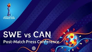 SWE v. CAN - Post-Match Press Conference