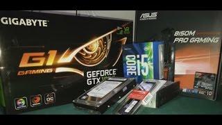 GTX 1060 i5 6500 B150M PRO GAMING BILGISAYAR TOPLAMA