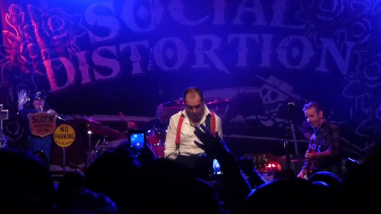 Social Distortion - Bakersfield (Live in Charlotte NC) HD