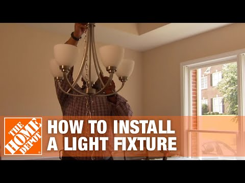 How To Install A Light Fixture - Overview | The Home Depot