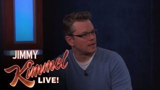 The Cast of The Monuments Men on Jimmy Kimmel Live PART 6