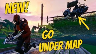 NEW Under Map Glitch (v7.10) | Fortnite Battle Royale