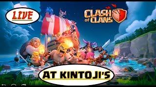 Clash of Clans Live Stream at Kintoji's