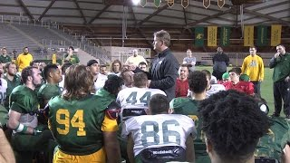The Nystrom Era kicks off for NMU football with spring practices