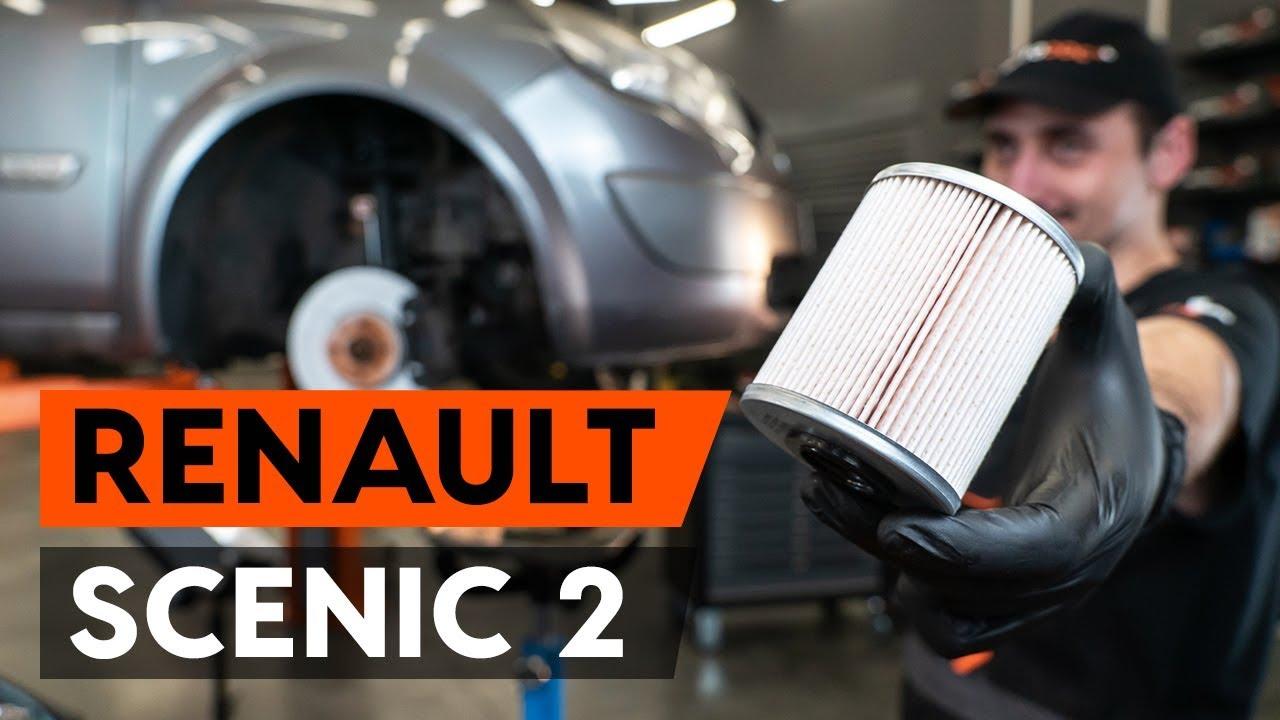 Renault clio üzemanyagszűrő helye