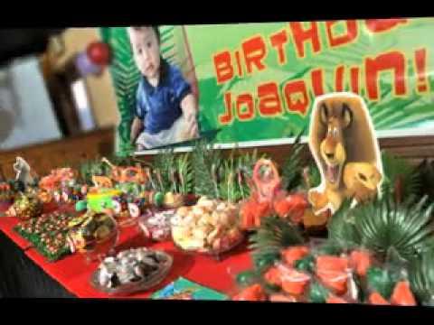Diy Safari Party Decorating Ideas Youtube