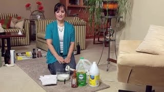 Old-Fashioned, Homemade Carpet Shampoo Cleaning : Home Cleaning