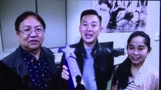 雅虎香港「Yahoo搜尋人氣大獎2016」頒獎典禮 - 伍允龍、劉佩玥
