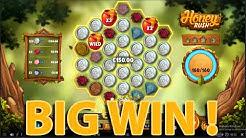 HONEY RUSH Slot BIG WIN! #HoenyRushSlot #VideoSlot #CasinoBigWin