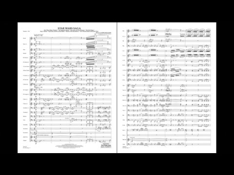Star Wars Saga by John Williams/arr. Stephen Bulla