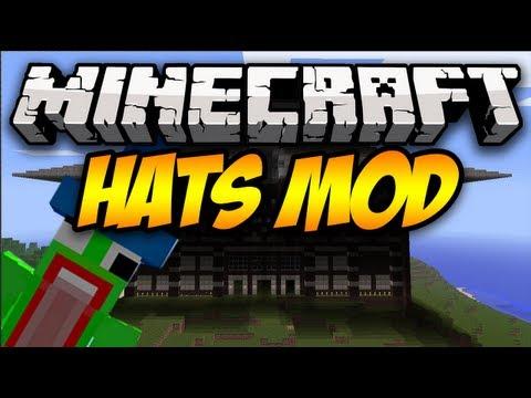 minecraft mod 1.7 10 hats