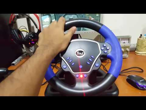 Gaming Steering Wheel  Reviwe In Csinhala